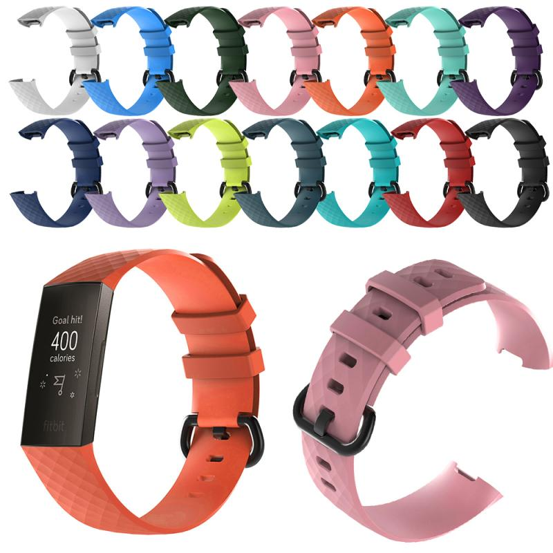 Sport Bracelet Watchband For Fitbit Charge 3 Wrist Straps Wristband Replacement Accessory Watch Band Bracelet Strap