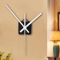 Novo relógio de quartzo movimento mecanismo ferramenta de reparo com ponteiro mãos branco diy relógio de parede hora/minuto mão movimento|Rel. parede| |  -