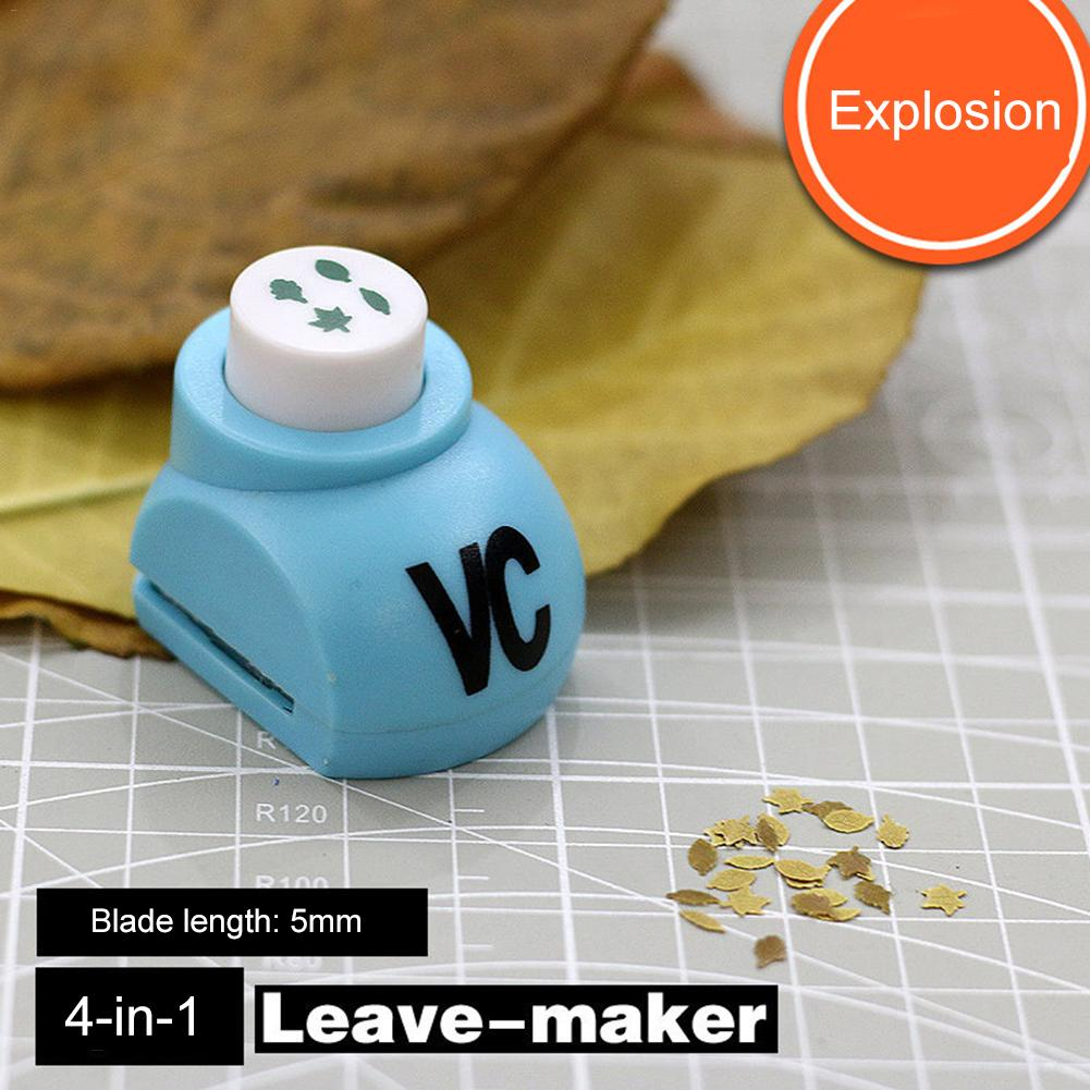 4 In 1 Model Scene Leaves The Producer Leaf Maker Sand Table Accessories Military Scenario Models Hobby Tool Accessory(China)