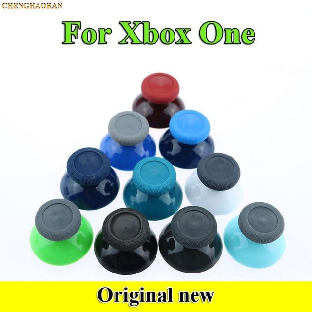 20 sztuk 10 kolorów dla microsoft xbox One X S kontroler oryginalny 3d analogowe palce kciuki Grip nasadka na dżojstik niebieski czerwony ThumbSticks