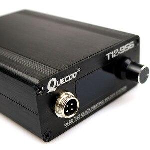 Image 4 - T12 956 OLED STC 1.3 インチデジタルディスプレイはんだステーション大画面 T12 907 プラスチックハンドルと 25k はんだコテ