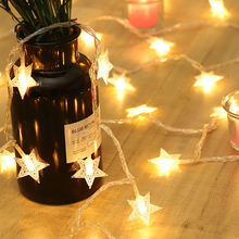 1.5m to 5m LED garland light string outdoor wedding birthday party led decor light on home window de