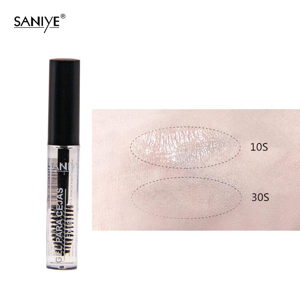 SANIYE Cosmetics Clear Eyebrow Gel Waterproof Transparent Eyebrow Fixed Gel Long Lasting Eyebrow Makeup Gel Para Cejas 1