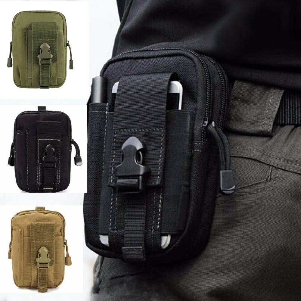 กลางแจ้งทหารยุทธวิธีกระเป๋ากันน้ำเอวกระเป๋าเข็มขัดกีฬากระเป๋าเป้สะพายหลังกระเป๋าสตางค...