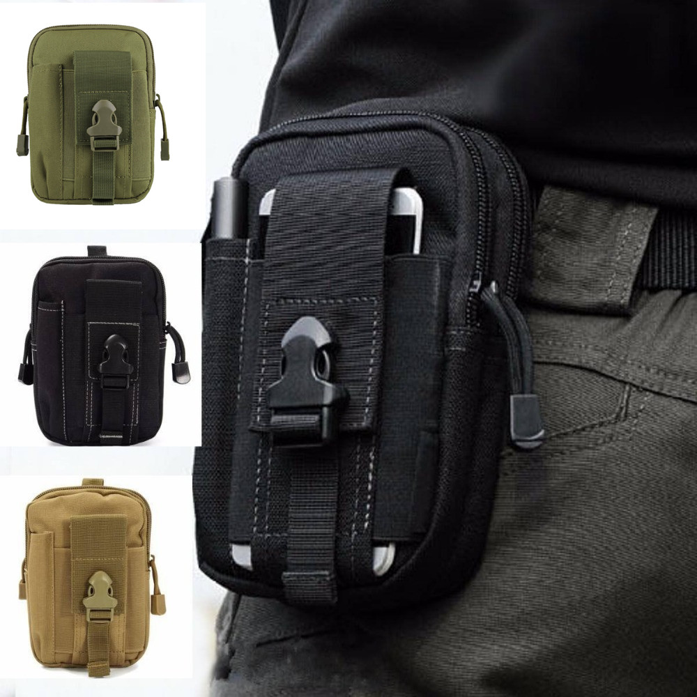 Outdoor Military Tactical Bag Waterproof Camping Waist Belt Bag Sports Army Backpack Wallet Pouch Phone Case For Travel Hiking