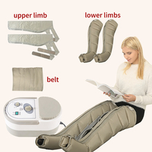 Electric Air Compression Leg Massager Leg Wraps Foot Ankles Calf Therapy Promote Blood Circulation Relieve Pain Fatigue