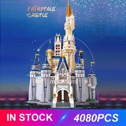 Bajkowy zamek kompatybilny 71040 klocki klocki edukacyjne zabawki prezenty urodzinowe