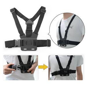 Image 5 - Go Pro Accessoires Voor Gopro Hero7 6 5 4 3 + Actie Sport Camera Borst Head Hand Wrist Strap Voor xiaomi Yi 4 K Eken Auto Supction