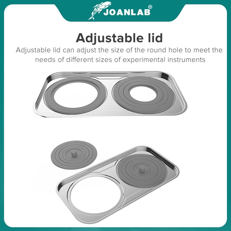 JOANLAB Laboratory Water Bath Constant Temperature LCD Digital Display Lab Equipment Thermostat Tank 6 4 2 1 Single Hole 220v 5