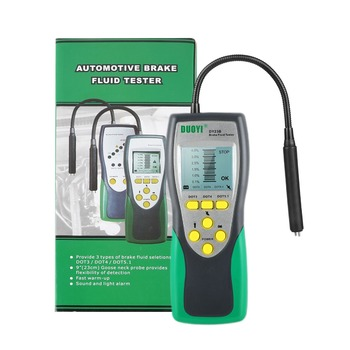 Duoyi DY23/DY23B Automotive Brake Fluid Tester Digital Brake Fluid Inspection Check Car Brake Oil Quality LED Indicator Display