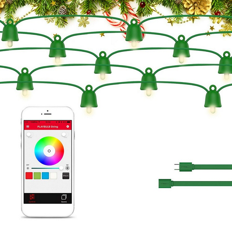 Smart Atmosphere Lantern Night Light Christmas Lantern Decoration