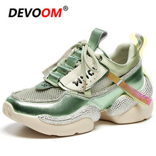 2020 Outdoor Running Shoes For Women Summer Triple s Platform Shoes