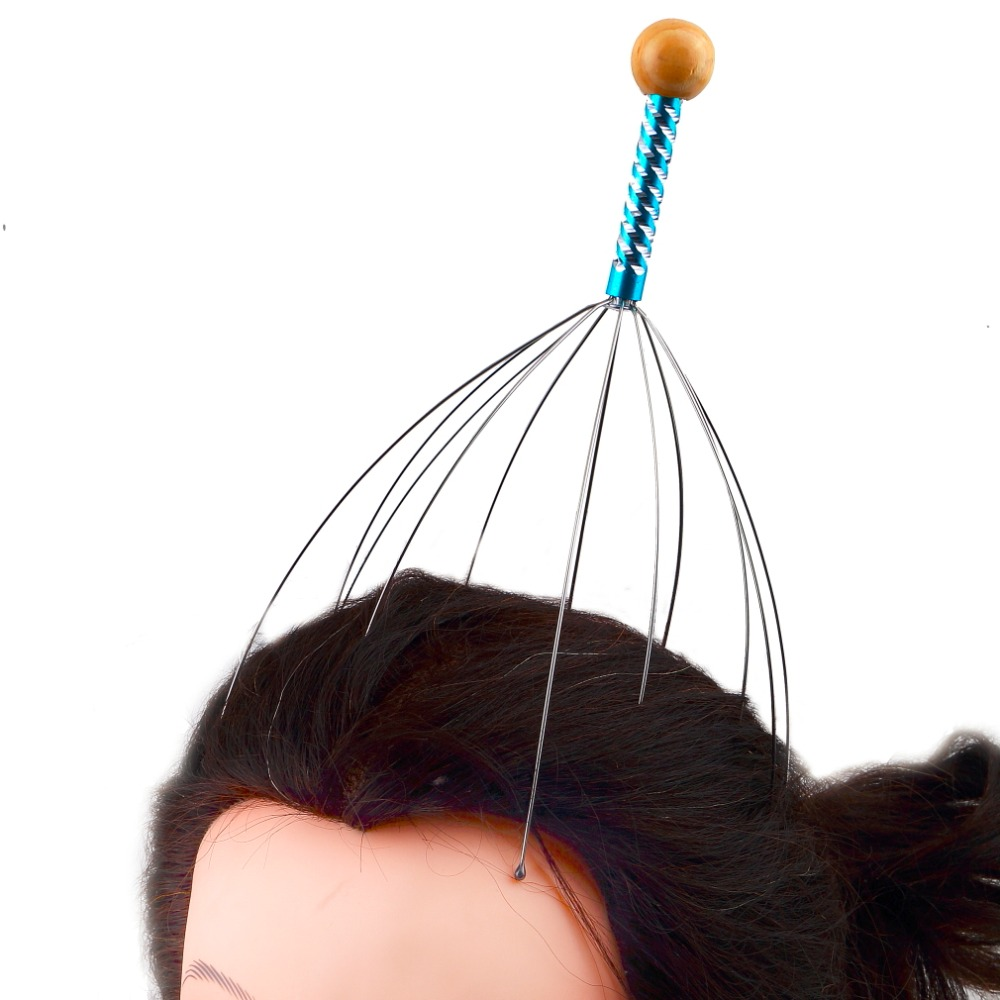 Multifunctional Anti-Stress Head Massager Relieve Paid Stress Release Massage Body Tool Set Home Office Use Health Care New
