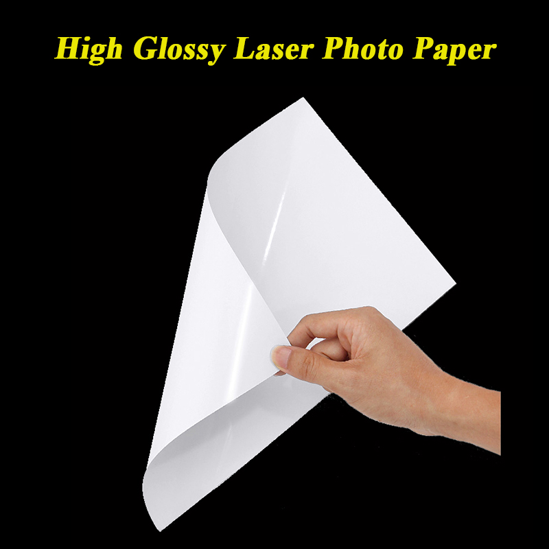 A4 Double Side High Glossy Photo Paper For Laser Printer 105g 128g 157g 200g 250g 300g Laser Printing Paper