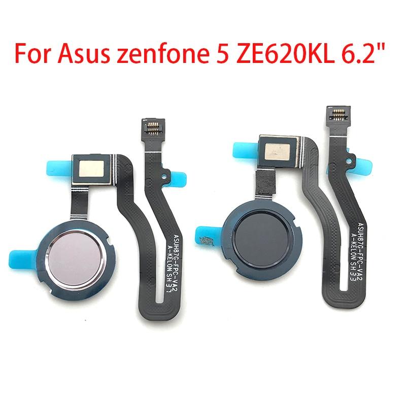 """For Asus zenfone 5 ZE620KL 6.2"""" Home Button FingerPrint Touch ID Sensor Flex Cable Ribbon Replacement Parts"""