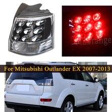 Задний светильник для Mitsubishi Outlander EX 2007-2013 внешняя сторона с лампой 8330A396 задний стоп-сигнал тормозной светильник для автомобиля