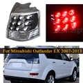 Coda posteriore della luce per Mitsubishi Outlander EX 2007 2013 lato Esterno Con La Lampadina 8330A396 della Coda di Arresto Luce di Freno Della Lampada per Auto Prodotto