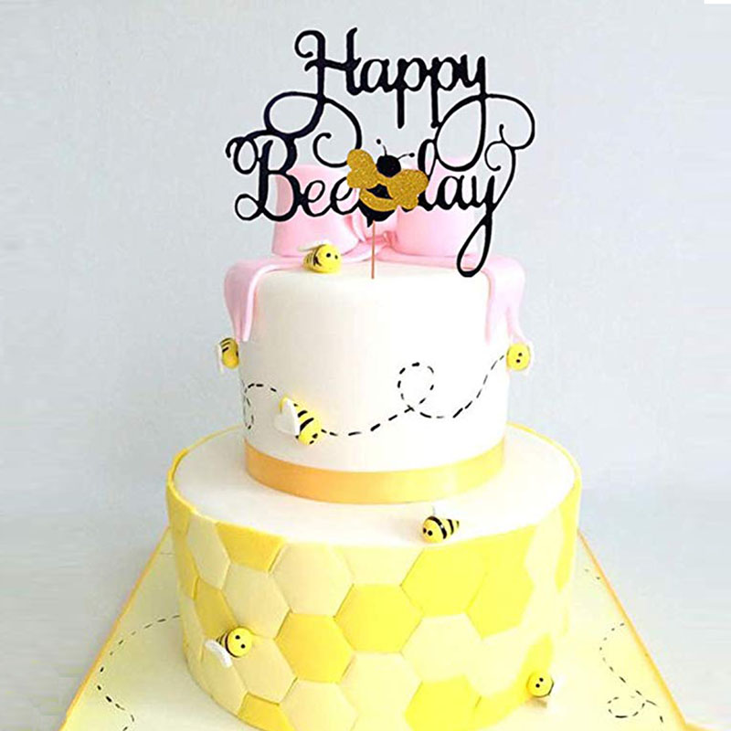 Fantastic Bumble Bee Themed Happy Bee Day Balloons Happy Birthday Banner Personalised Birthday Cards Paralily Jamesorg