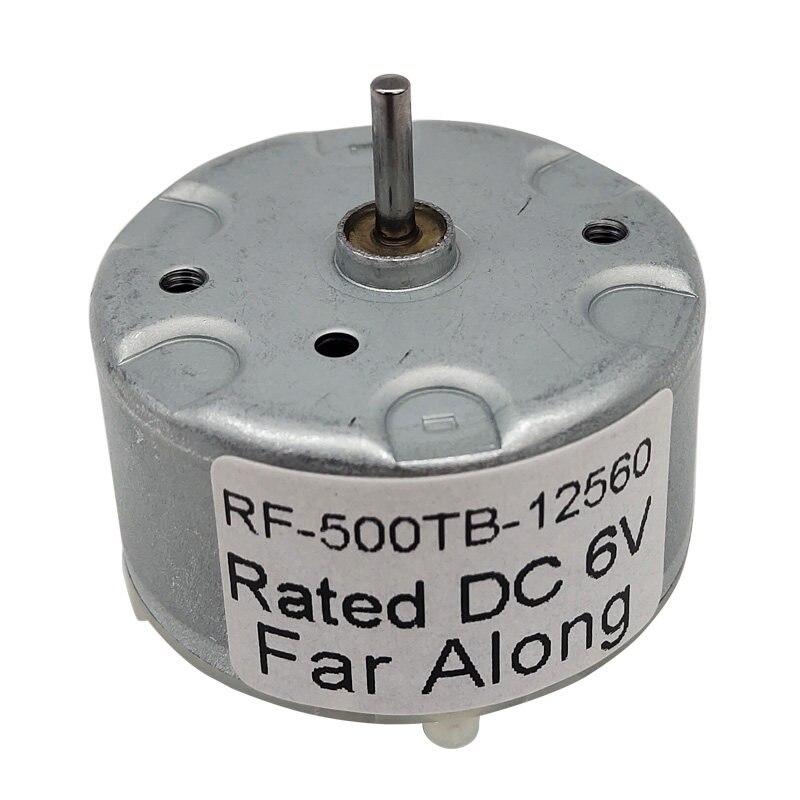 Size : RF 500TB 14415 1pc RF500TB12560 14415 18280 DC Motor Warning Light Motor Squirt Humidifier 3V6V12V Micro Motor F-MINGNIAN-TOOL