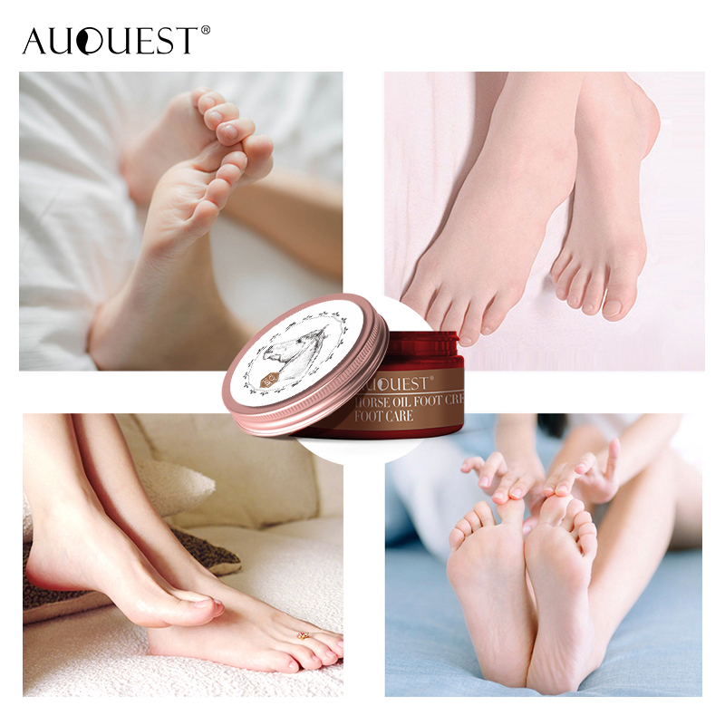 AuQuest Foot Cream Antifungal Itch Anti-chapping Blisters Foot Peeling Skin Deep-repair Moisturizing Soft Smooth Foot Care 5
