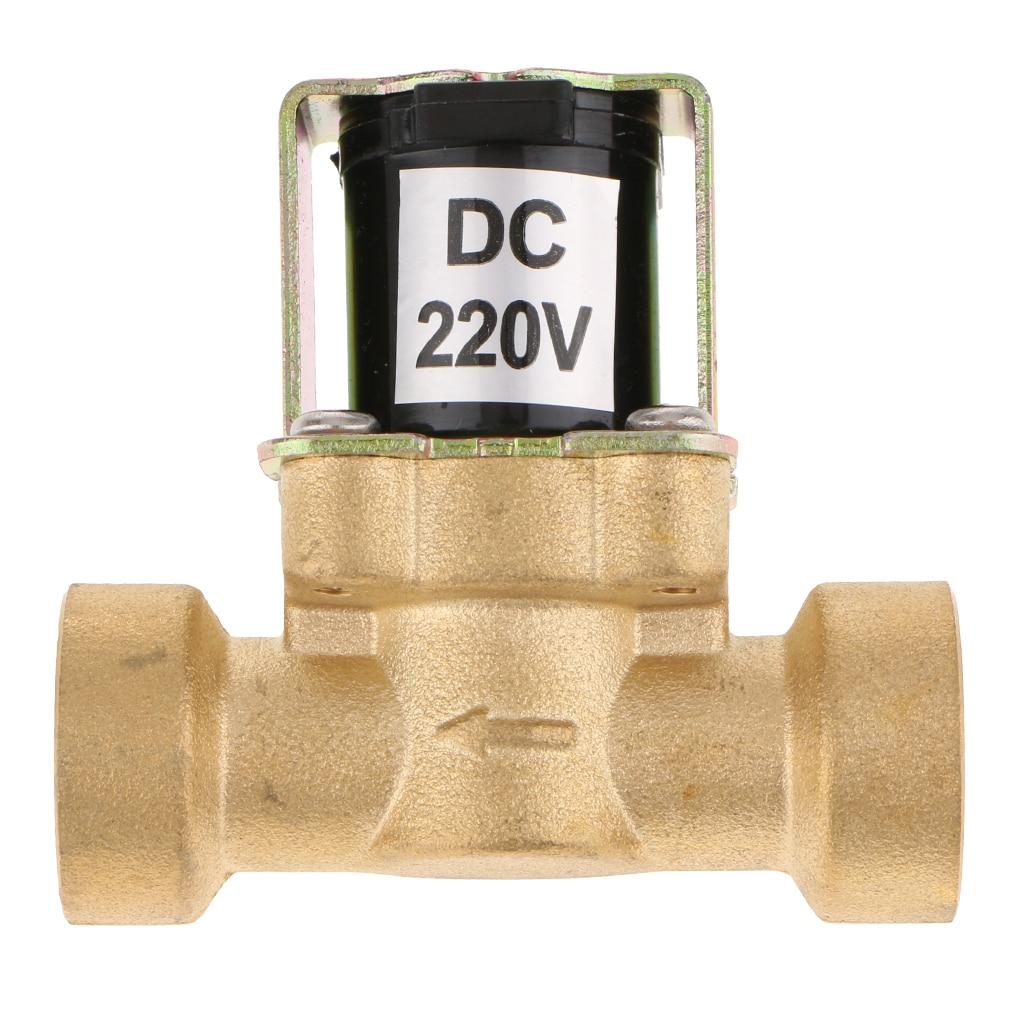 DC 220V электромагнитный клапан контроллер для солнечных водонагревателей 0,02 0.8mpa|Запчасти для электроводонагревателей|   | АлиЭкспресс
