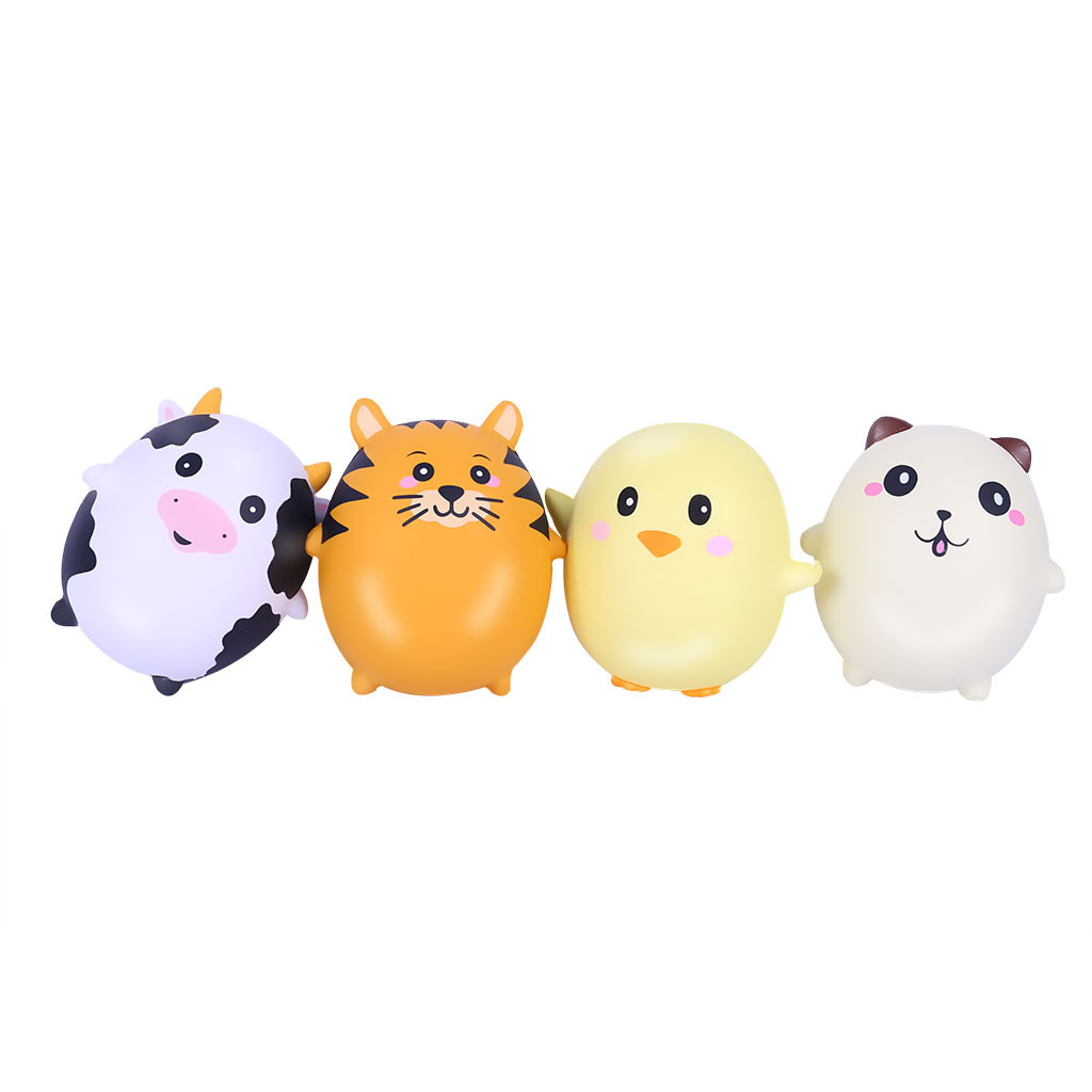 Egg Toy Decompression Toy Slow Rebound PU Toy Adorable Animals Slow Rising Cream Scented Stress Relief Toys L1227
