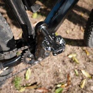 Image 3 - ZERAY MTB pedallar Cleat ile ZP 108S ile uyumlu SPD kendinden kilitli alüminyum alaşımlı çift taraflı çok fonksiyonlu bisiklet aksesuarları