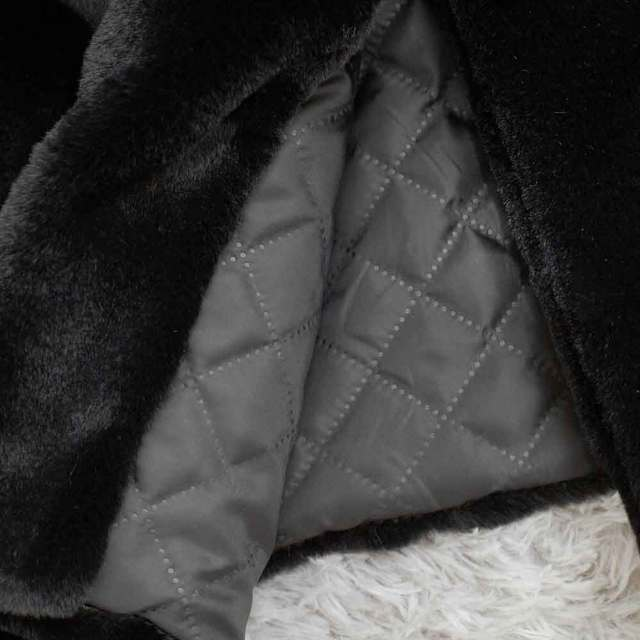 Winter Women High Quality Faux Rabbit Fur Coat Luxury Long Fur Coat Loose Lapel OverCoat Thick Warm Plus Size Female Plush Coats 6