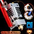 Алюминиевый прецизионный радиатор Trianglelab Swiss CR10 hotend с титановым разрывом, 3D-печать, J-head Hotend для ender3 cr10 и т. д.