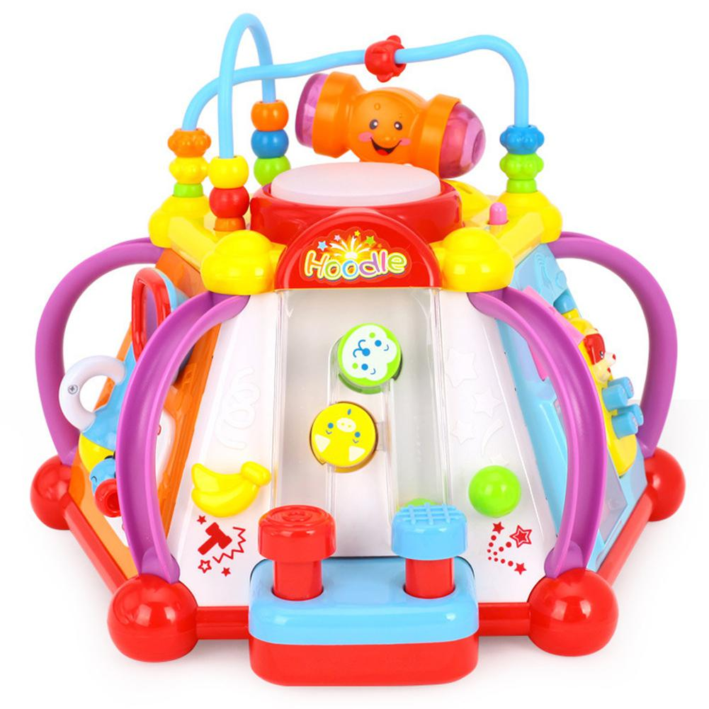 GloryStar Multi-function Beads Music Toy For Kids Baby Infant