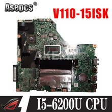 Akemy para Lenovo V110-15ISK V110-15IKB placa base Laotop V110-15ISK Placa base con I5-6200u Radeon R5 M430(China)