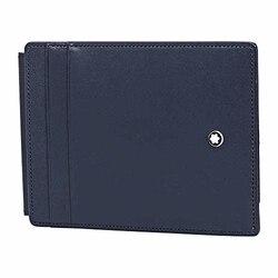 Montblanc Meisterstück Porta carte di credito, 12 cm, Blu (Blau)
