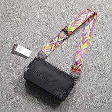 Strap Designer Men Shoulder Bag Hip Hop Casual Fashion Crossbody Nylon Shoulder Bag Korean Zipper Bolsos Hombre Mens Bag DE50NDJ