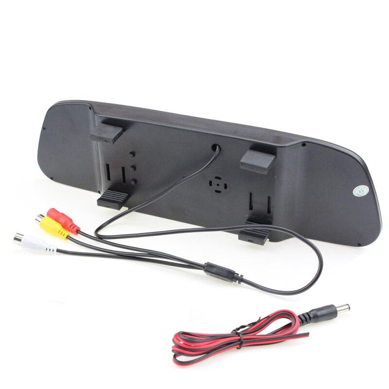5 zoll HD Display 800*480 LCD Auto Parkplatz Spiegel Monitor Video Umkehr Für Rückfahr Kamera Einparkhilfe system