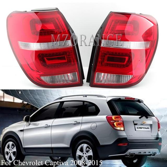 MZORANGE 1 Pair Tail Light For Chevrolet Captiva 2008 2009 2010 2011 2012 2013 2014 2015 Rear Signal Taillight Car Styling