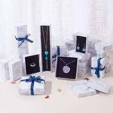 Pandahall 24 шт набор ювелирных изделий из картона браслеты