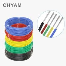 Fil de câble électronique UL1007 en PVC, 5 mètres, 5 M, 24awg, 26 28 30 22awg, 18awg, 16awg