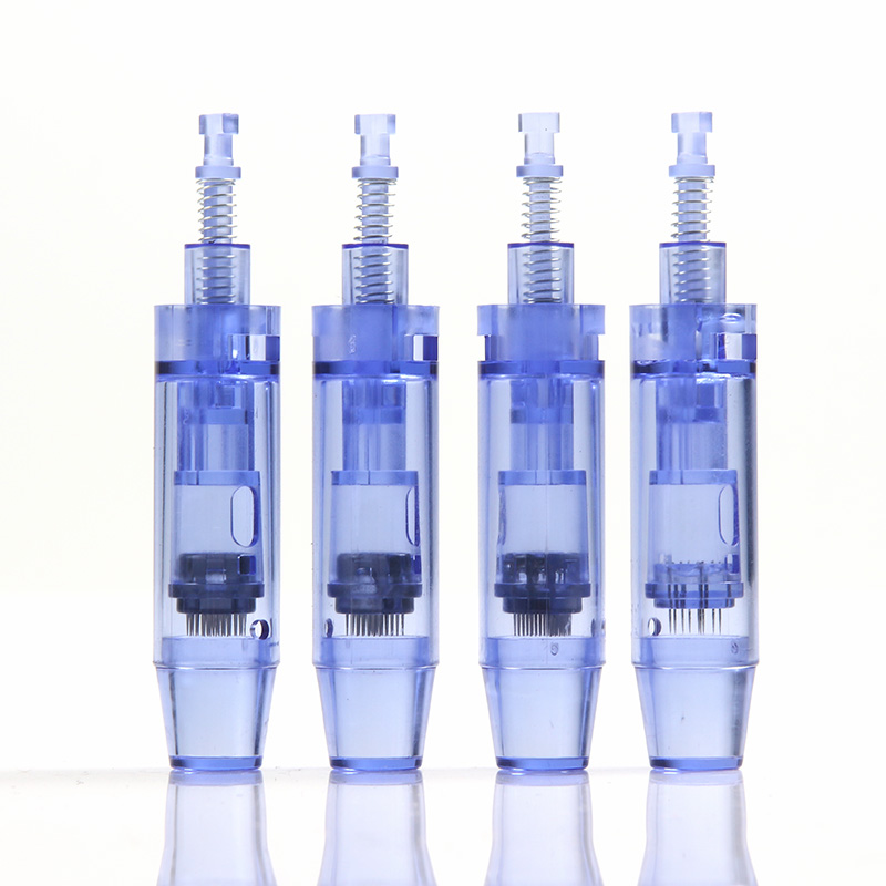 Dermografo Needle Cartridges 36pins Nano Micro Needle For Micro Needling Pen Bbglow Machine Bayonet Port Needle Tip Replacement