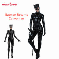 Women Cosplay Costume Cat Suit Jumpsuit Bodysuit