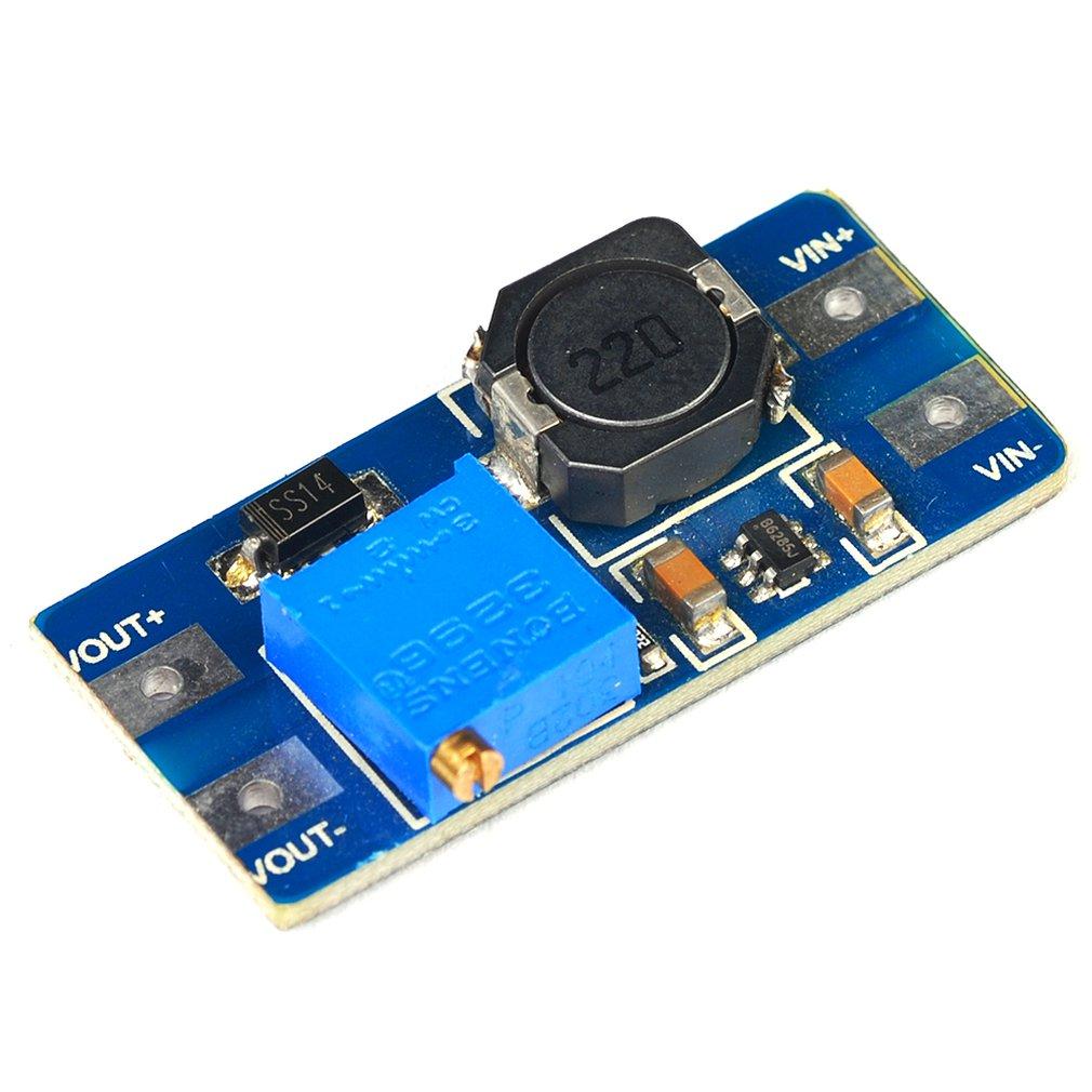 Dc-Dc Boost Module 2A Booster Board Input Voltage 2-24V Liter 5/9/12/-28V Adjustable 2577 Voltage Module
