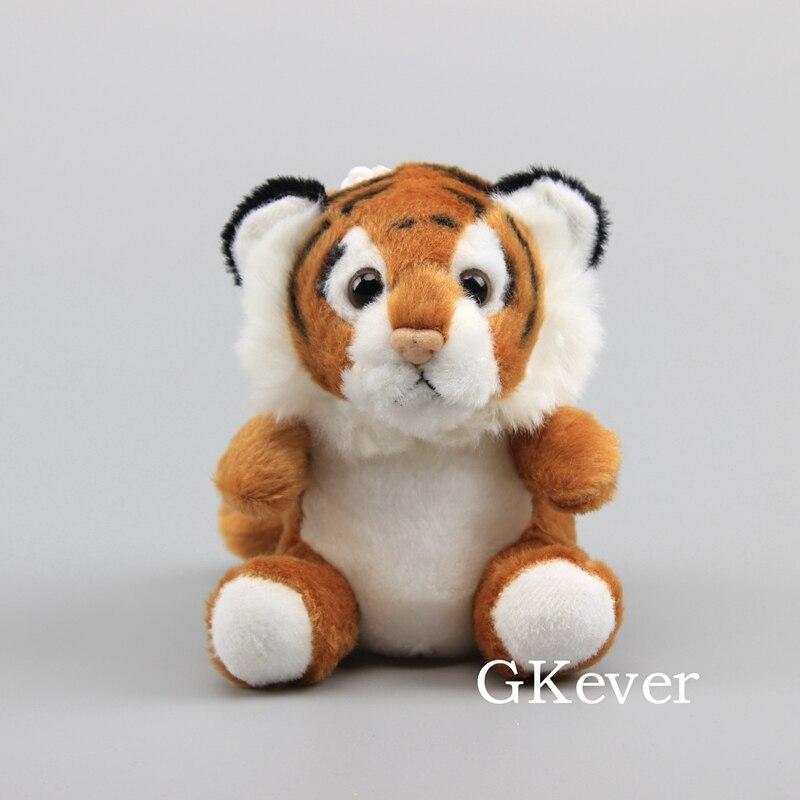 Tiger plush doll toys stuffed animals keychain Children Baby girl Gift Cartoon Anime plush toys Pillow Action Toy Figures