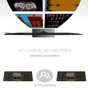 Image 5 - USB Wireless Handheld TV Video Game Console Build In 600 Classic Game 8 Bit Mini Video Console Support AV/HDMI Output