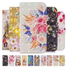KISSCASE Flower Leather Case Coques For Huawei P30 Pro P20 P10 P8 Lite 2017 P Smart Plus Y7 2019 Honor 8 9 10 Mate 20 Lite Funda(China)