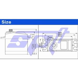 Image 4 - SPT SPT5410LV 10 кг высокоскоростная металлическая Шестерня цифровой сервопривод для дрифта автомобиля большой угол цифровой сервопривод для 1:10 rc Дрифтерный автомобиль/модель самолета