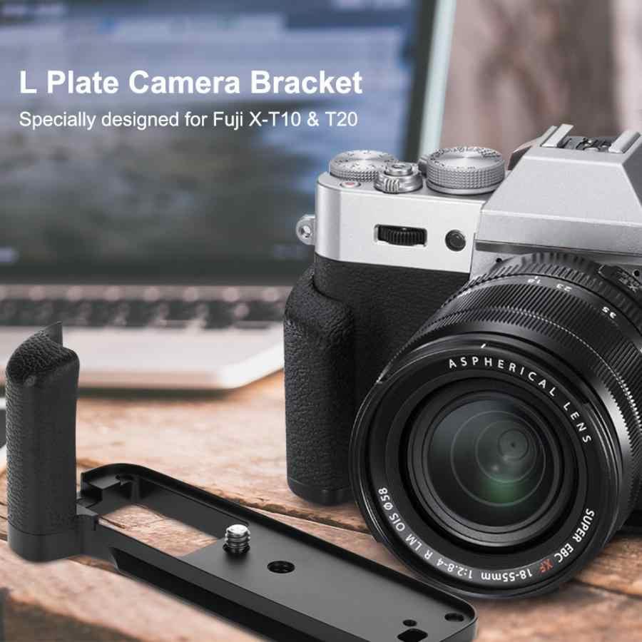 Новый Meike MK XT20G металлический антивибрационный ручной l-образный кронштейн держатель для камеры для Fuji X-T10/20 Ручной l-образный кронштейн