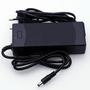 Image 2 - 2019 Liitokala 12.6V 5A 3A 1A  Lithium Battery Charger 3 series lithium Cbattery 12V battery charger+US EU AC power cord