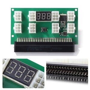 Image 1 - التعدين 750 واط خادم PSU امدادات الطاقة لوحة القطع محول مع شاشة LED 8 منافذ PCI e 6 دبوس ل HP DPS 1200FB DPS 1200QB
