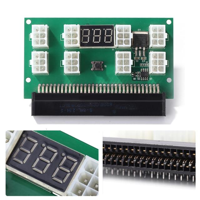 التعدين 750 واط خادم PSU امدادات الطاقة لوحة القطع محول مع شاشة LED 8 منافذ PCI e 6 دبوس ل HP DPS 1200FB DPS 1200QB