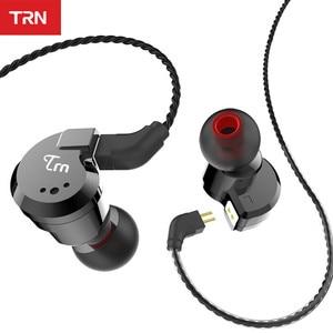 Image 2 - TRN V80 2BA + 2DD hibrid Metal kulak kulaklık HIFI DJ Monito koşu spor kulaklık kulak tıkacı kulaklık ayrılabilir kablo AS10 \ T2 \ V30