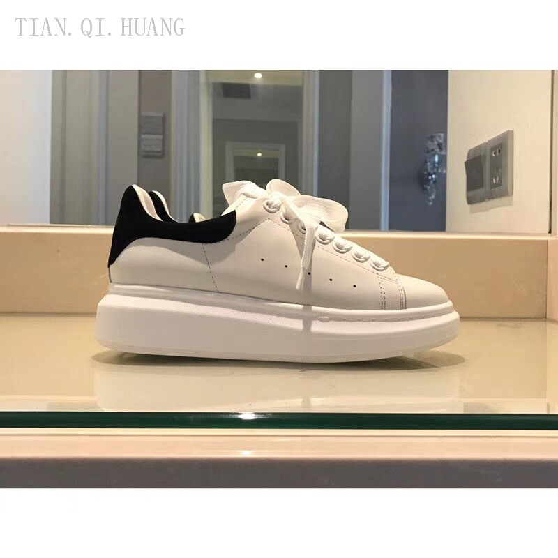 TIAN.QI.HUANG Sneakers Shoes Classic Fashion-Design Genuine-Leather High-Quality Woman title=